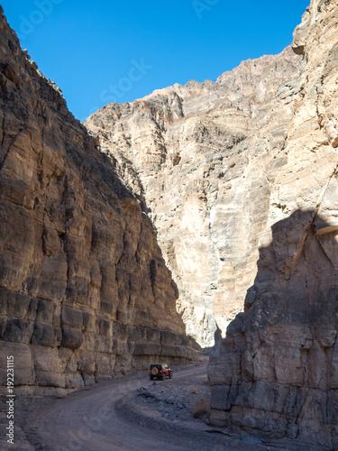Staande foto Beige death valley