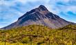 Mountain in Tucson Arizona Desert