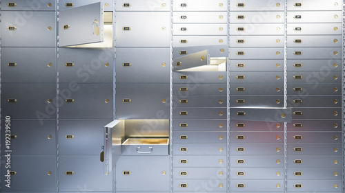open-bank-safe-doors-3d-illustration