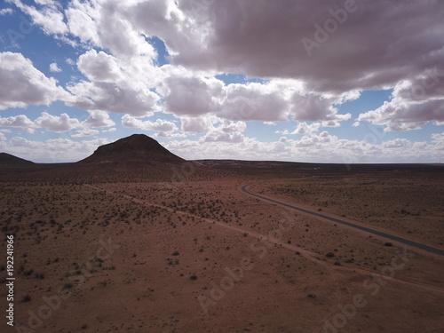 Papiers peints Marron chocolat Mojave Desert