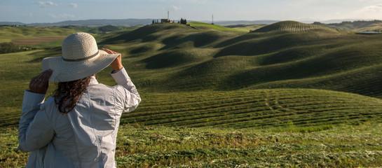 Wheat field in Tuscany
