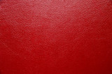 Red leather texture - 192242519