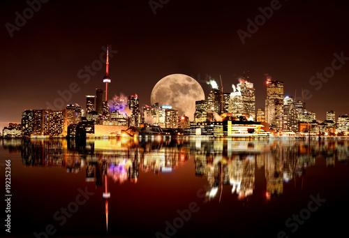 Foto op Plexiglas Toronto Full Moon Toronto