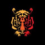 head lion vector symbol