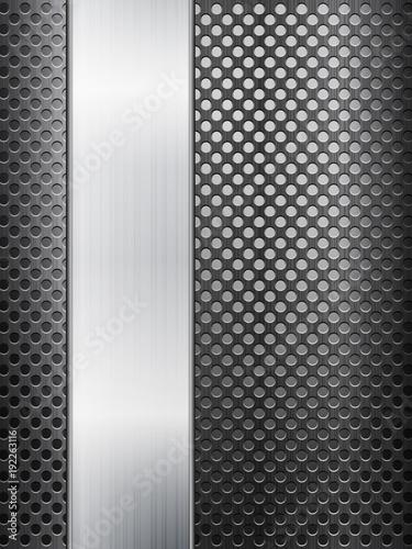 metal grid and sheet