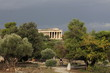 Temple of Hephaestus in Ancient Agora of Athens, Greece