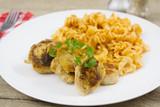 filet de poulet et pâtes - 192270715