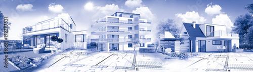 Concept immobilier et construction de maison - 192277531