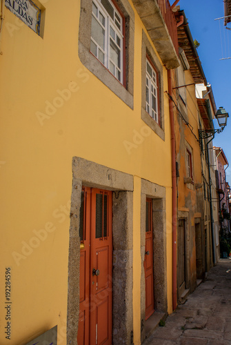 Fotobehang Smalle straatjes Porto, Portugal