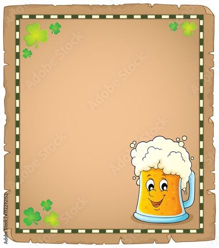 Aluminium Voor kinderen Beer theme parchment 1