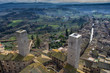 Beautiful view of San Gimignano, a medieval city - 192299504