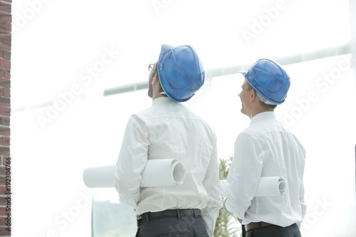 rear view. architect and Builder