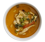 Chicken panang curry, thai food - 192323546