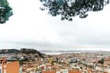 panoramic historic architectural Lisbon, Portugal