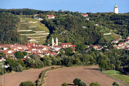 Fotobehang Zwart Freyburg an der Unstrut