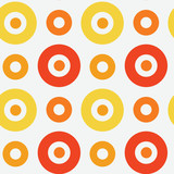 Vivid circles spanish seamless pattern. For print, fashion design, wrapping, wallpaper - 192343398