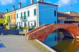 Small Italian town Comacchio also known as