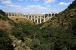 Arcos del Sitio (Arcos Site) historic aqueduct in Tepotzotlan, Mexico