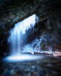 Icicle Cave Falls - 192373753