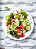 Colorful Summer Salad - 192378990