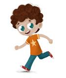 Niño corriendo juga...
