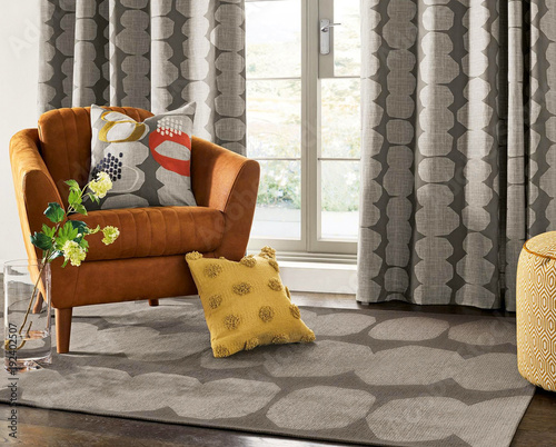 Living room with a chair