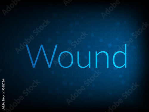 Wound abstract Technology Backgound