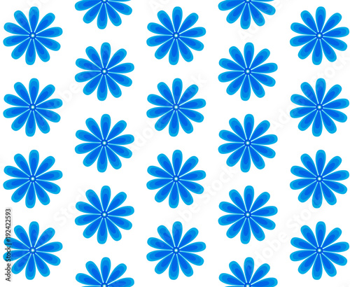 background of blue flowers, cornflower. - 192422593