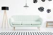 Quadro Black and white living room