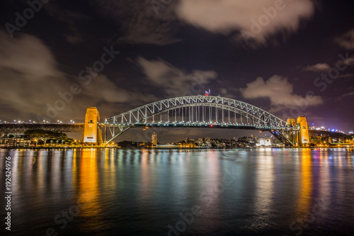 Staande foto Sydney Harbour Bridge