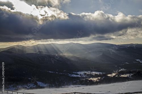 Bieszczady zimą  © wedrownik52