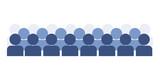 icone, utenti, clienti, utente, pubblico, cliente, - 192441731