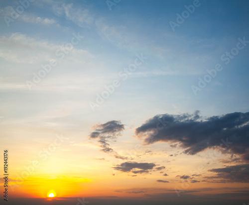 Foto op Plexiglas Landschappen beautiful and heavenly sunrise