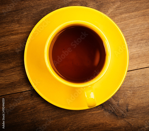 cup of tea, above