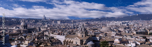 Foto op Canvas Rome Skyline of Rome, capital of Italy