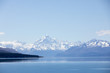 Lake Pukaki with Mt Cook in background, New Zealand - 192459974