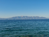 Beautiful landscape of Makarska riviera with high mountains - 192464350