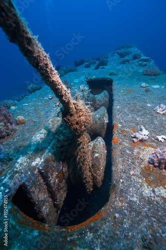 Foto op Aluminium Schipbreuk Wreck of the Salem Express, Red Sea, Egypt