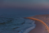 Beach during sunrise fog - 192490580