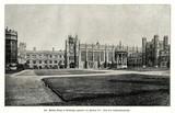 Trinity College Great Court, Cambridge; around 1890 (from Spamers Illustrierte Weltgeschichte, 1894, 5[1], 712)