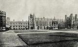 Trinity College Great Court, Cambridge, around 1890 (from Spamers Illustrierte Weltgeschichte, 1894, 5[1], 712)