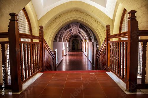 Foto op Aluminium Cyprus Hallway inside Kykkos monastery, Cyprus