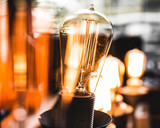closeup lightbulb