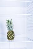 Pinepple fruit in clean refrigerato inside - 192518175