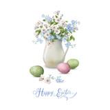 Vector Easter Card - 192552149