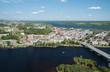 Shawinigan Quebec Aerial View