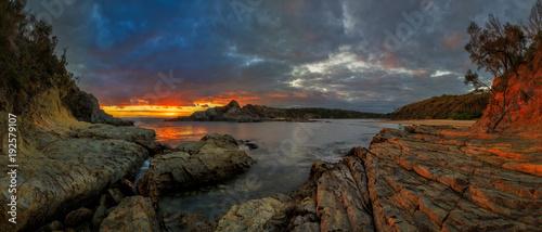 Papiers peints Morning Glory Guerilla Bay NSW Sunrise Panorama