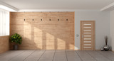 Empty minimalist living room - 192592365