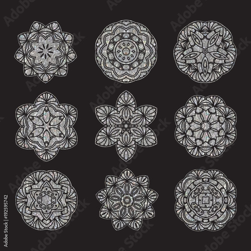 Hand drawn decorative mandala