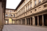 FLORENCE, ITALY - SEPTEMBER 17, 2017: The Uffizi Gallery in Florence in Italy. - 192601347